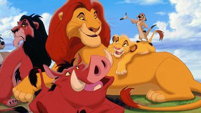 Rei Leão Disney Filme Simba Timão Pumba Scar
