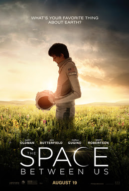 The Space Between Us Poster Film