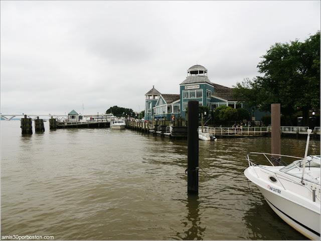 Puerto de Alexandria en Virginia