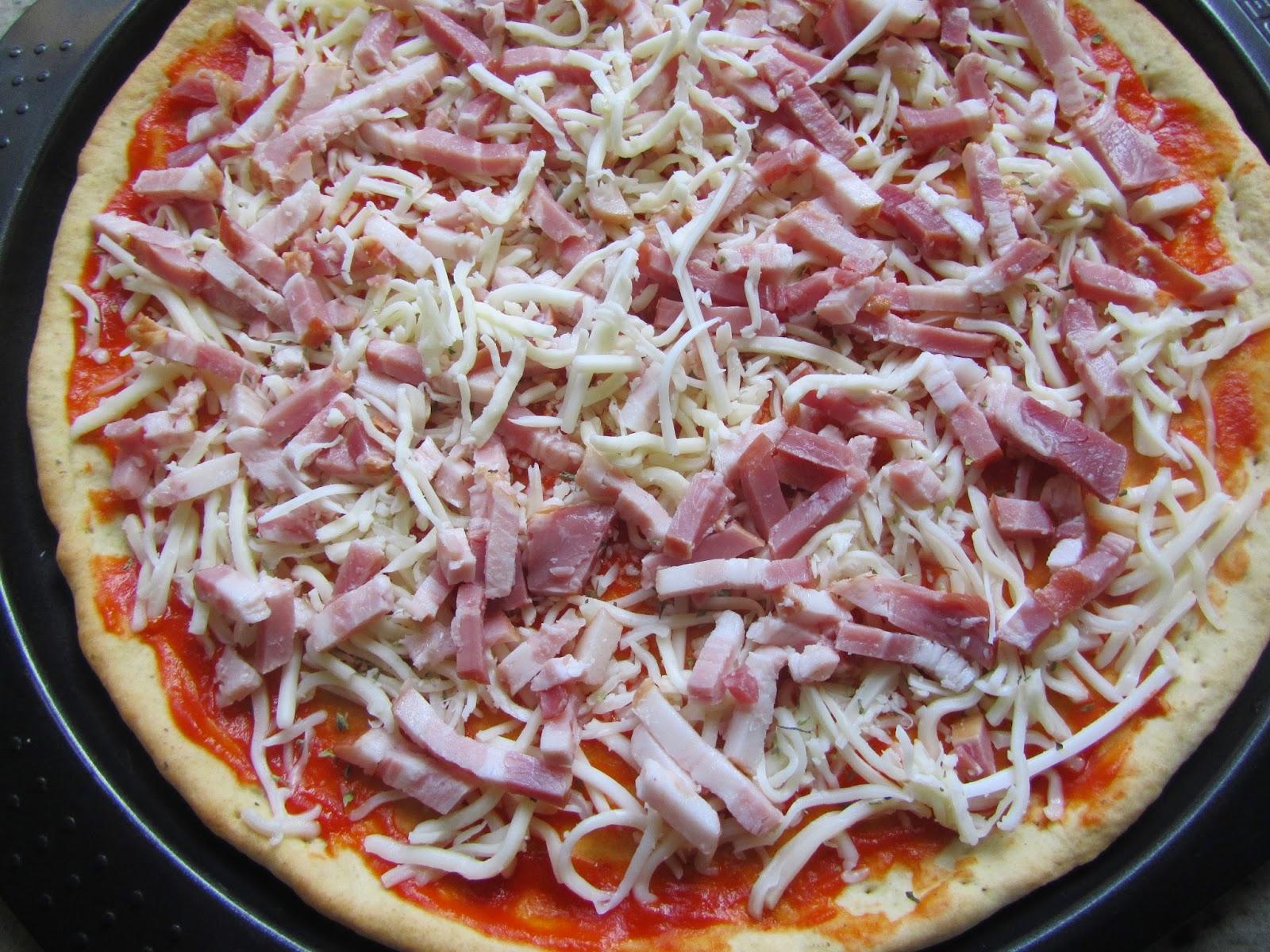 Pizza expres sin reposo Thermomix