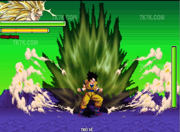 Chơi game 7 Viên Ngọc Rồng 2.8 đó là một cuộc chiến đấu khốc liệt ngữa  người chơi với máy nếu bạn chọn chế độ là 1 player và 2 người chiến ...