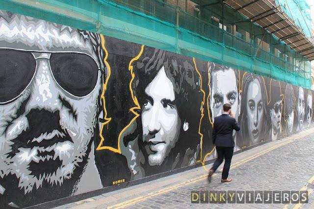 Arte urbano de Belfast