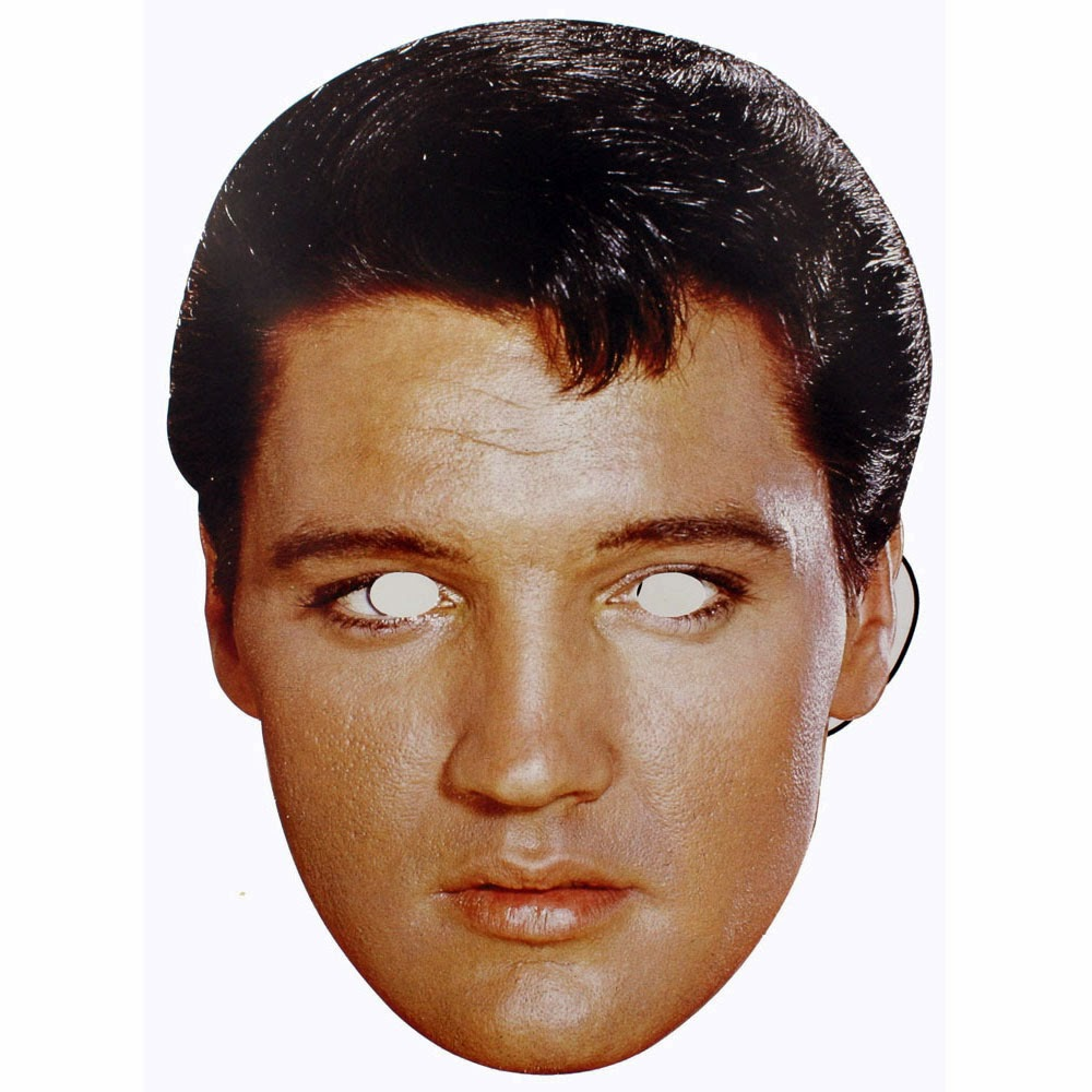 Elvis Free Printable Masks. | Oh My Fiesta! in english
