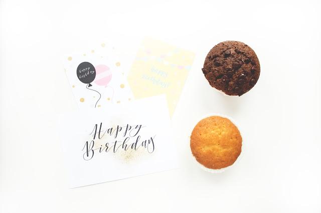 Urodzinowe darmowe karty do Project Life