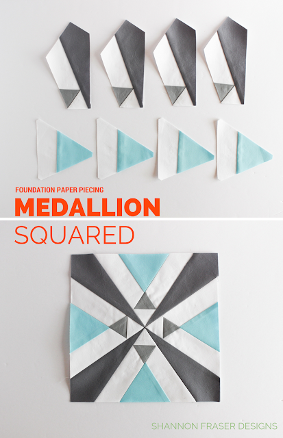 Q2 2018 Finish-A-Long | Shannon Fraser Designs | Medallion Squared