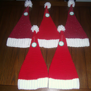 Playful Santa Hats