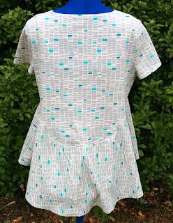 Creates Sew Slow: Janis Sandbar top - back