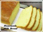 Homemade White Milk Bread