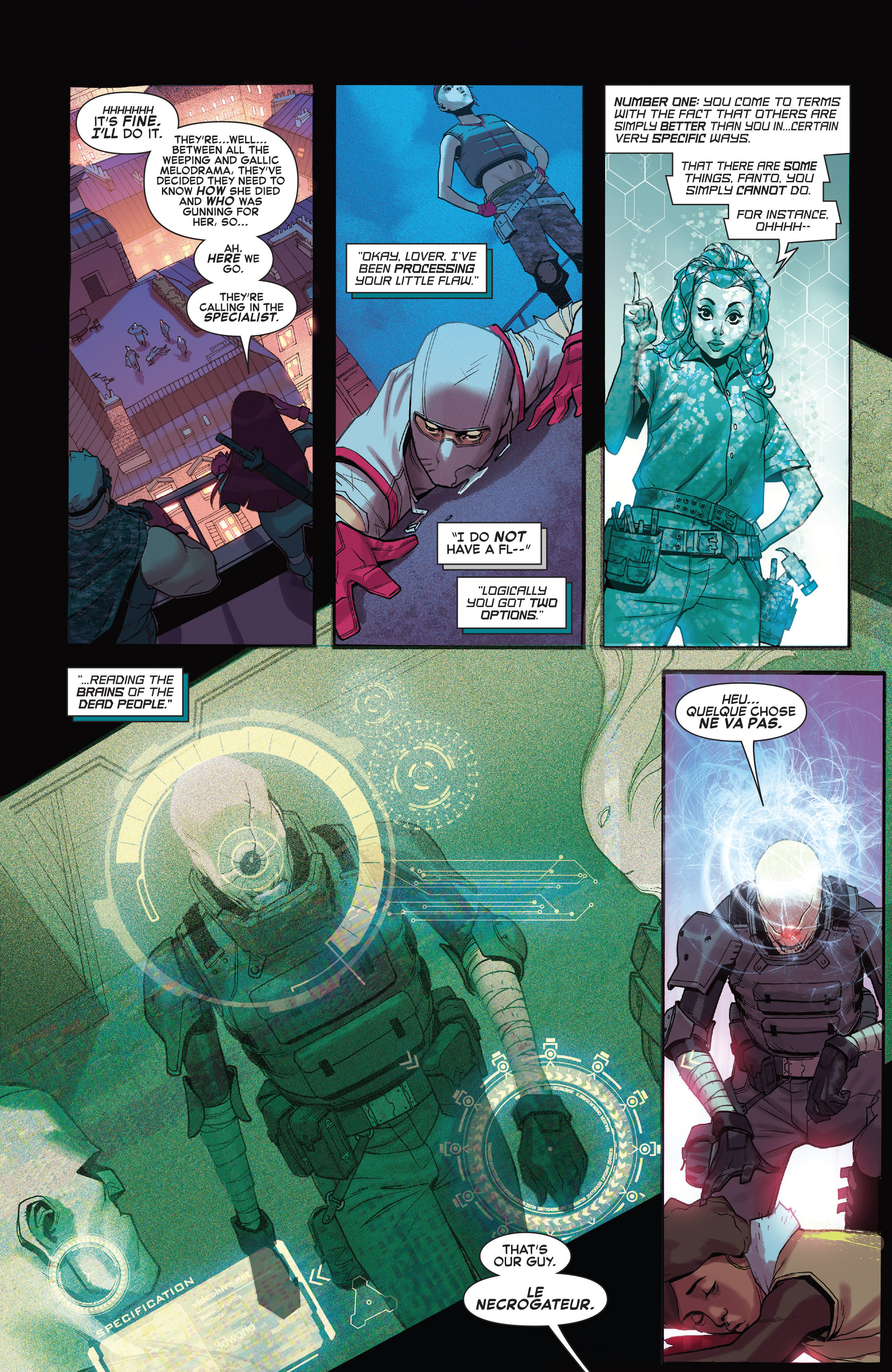 Read online X-Force (2014) comic -  Issue #4 - 17