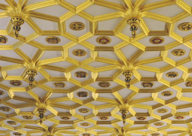 Hampton Court Gold Ceiling