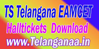 TS Telangana EAMCET TSEAMCET 2017 Halltickets Download