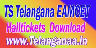 TS Telangana EAMCET TSEAMCET 2017 Halltickets Download