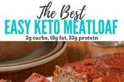 Easy Keto Meatloaf Bursting with Flavor!