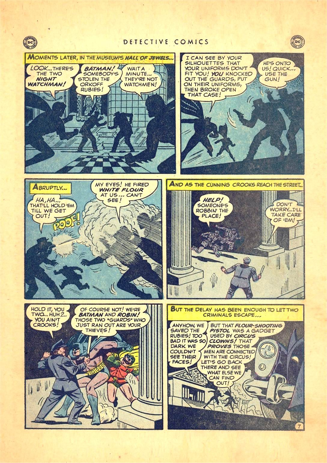 Read online Detective Comics (1937) comic -  Issue #166 - 9