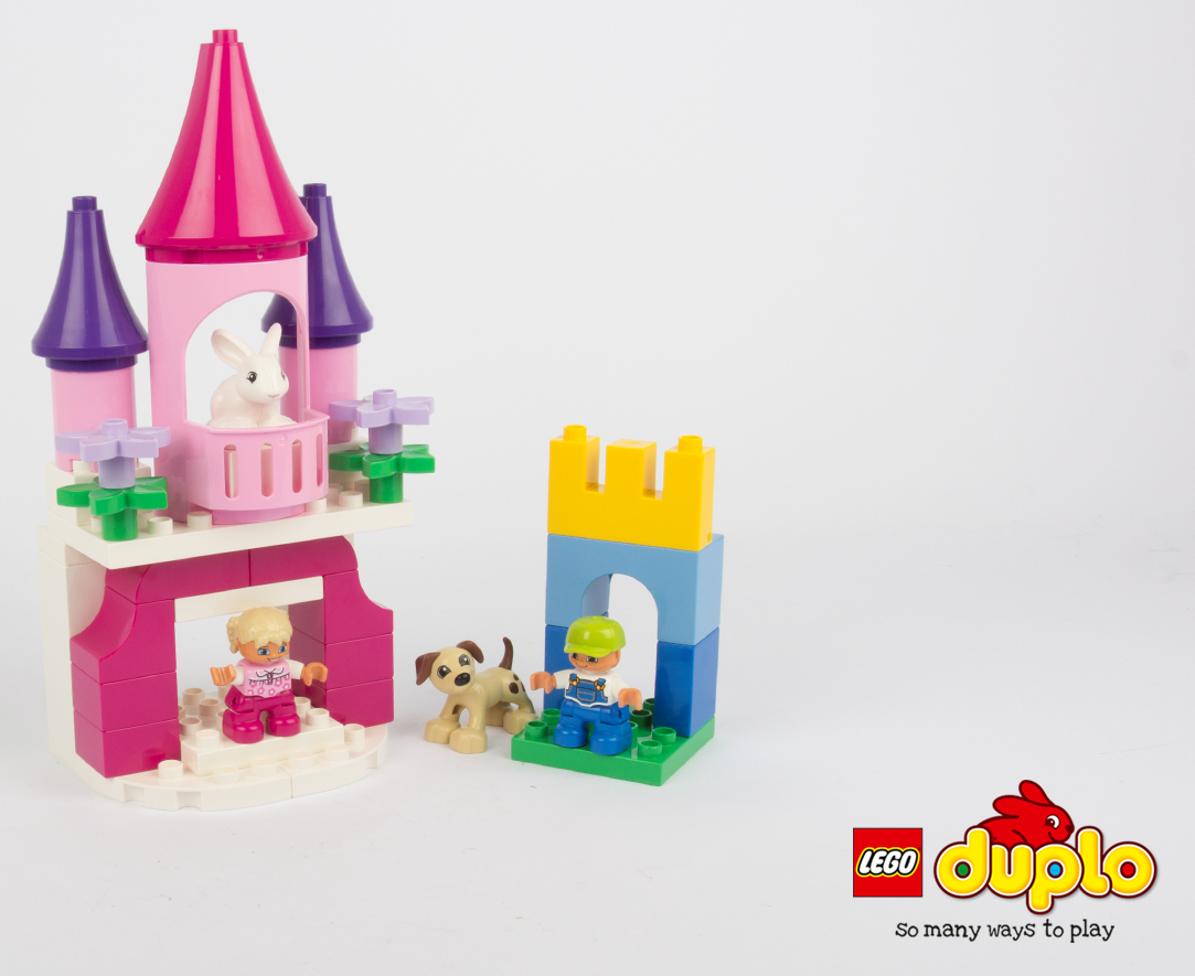 The Brick Castle LEGO DUPLO Custom Build