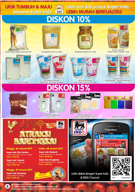 Katalog Super Indo Surabaya Malang Edisi 12-18 Januari 2017