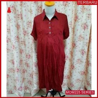 MOM225D19 Dress Hamil Menyusui Onde Kantor Dresshamil Ibu Hamil
