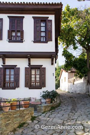 Şirince'nin restore edilmiş tarihi evleri