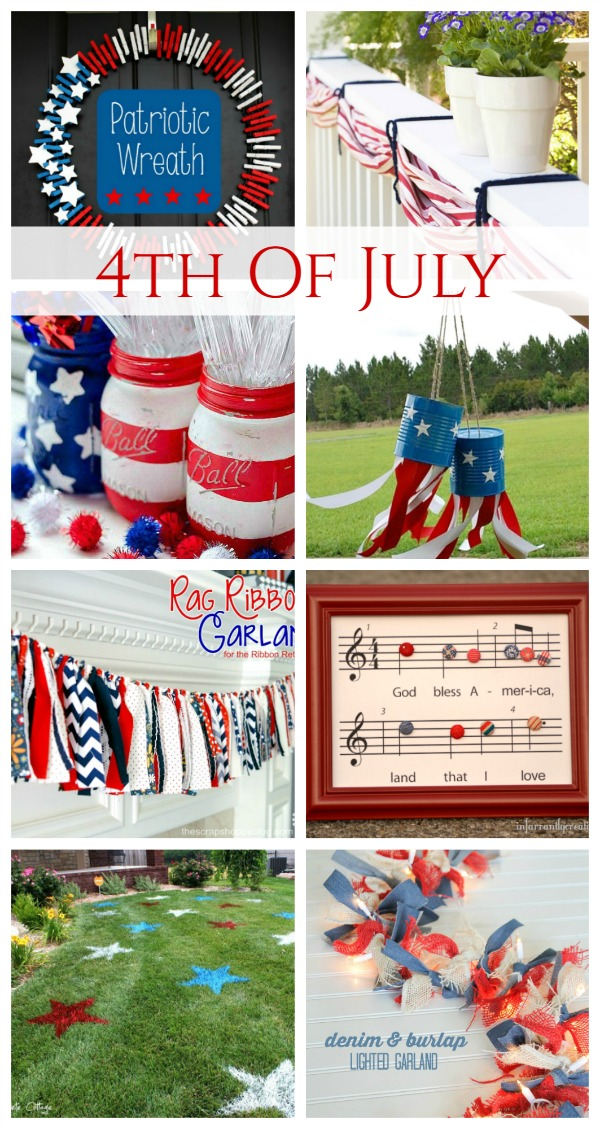 4th Of July Decor Crafts Cozy Little House