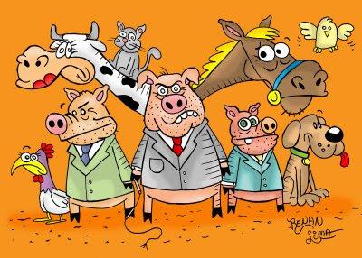 Resultado de imagem para espírito de porco político charge