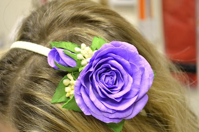 мастер класс по изготовлению розы из фоамирана