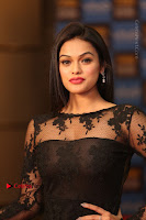 Actress Soniya Stills in Beautiful Black Long Dress at SIIMA Short Film Awards 2017 .COM 0014.JPG
