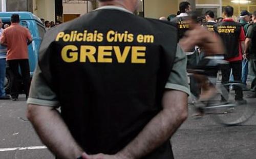 Policiais civis de Pernambuco entram em greve a partir da meia noite de hoje