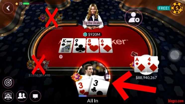 Geçen günlerde Zynga Poker'in bedava chip yapma hilesini buldum.