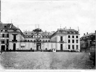 Der Palais de provincial auf dem Place Saint Aubain. 1914 - 1918, Hier war Joseph Stoll vermutlich im Rahmen seiner Verwendung am Gouvernementsgericht eingesetzt.; Nachlass Joseph Stoll Bensheim, Stoll-Berberich 2016