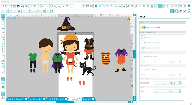Opening commercial use images Silhouette Studio, silhouette cameo, silhouette studio tutorial, silhouette portrait tutorial, silhoeutte halloween project, opening jpeg, opening png, opening eps