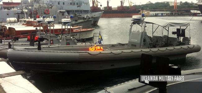 ВМС отримали від США швидкісні катери «Willard» Sea Force 730 та Sea Force 11M
