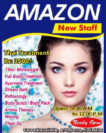 Amazon Spa | Massage center in Ratmalana