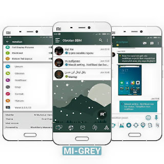 Download Mod BBM MI-Grey V1.0 based v3.2.5.12