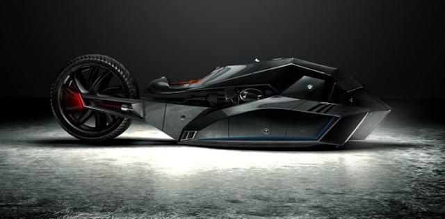 Conoce la BMW Titán, la supermotocicleta del futuro