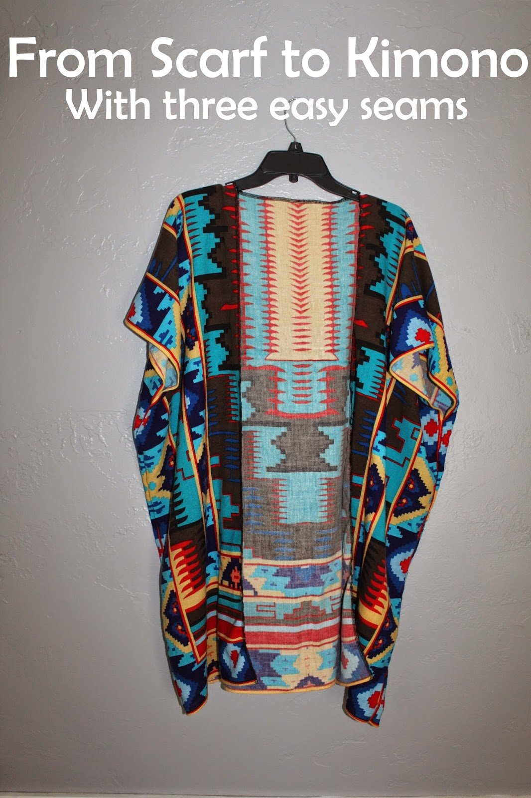 Keeping Up With Us Jones': Refashion: making a Kimono from ...