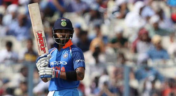 कोलकाता वन डे में भारत ने बनाये 252 रन - कोहली चुके पोंटिंग का रिकॉर्ड
