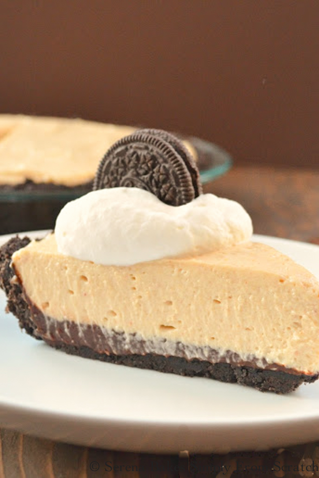 Peanut Butter Fudge Pie.