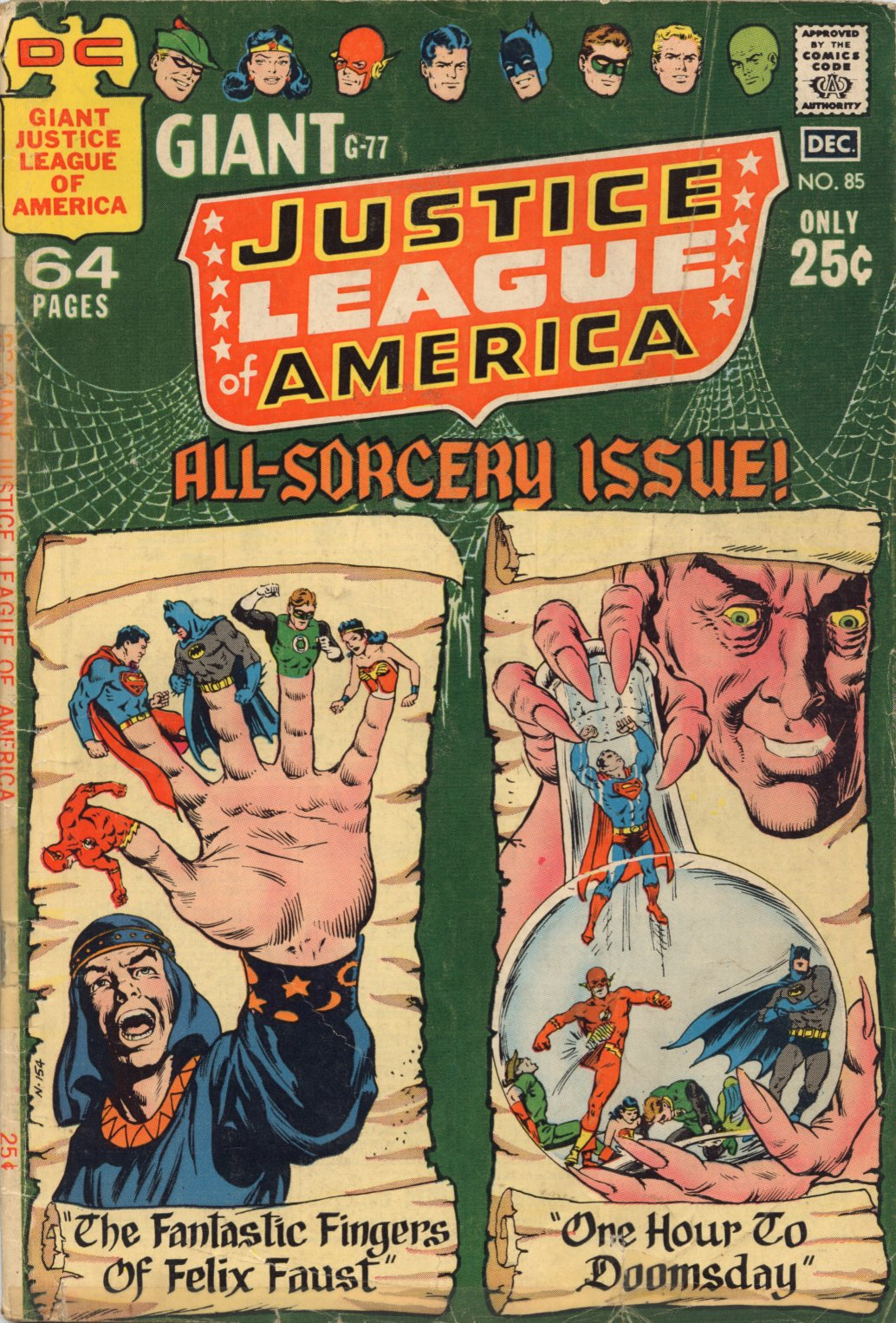 Justice League of America (1960) 85 Page 1