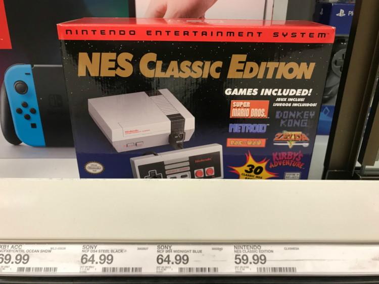 The Target Saver Target Com Nintendo Nes Classic Game Console