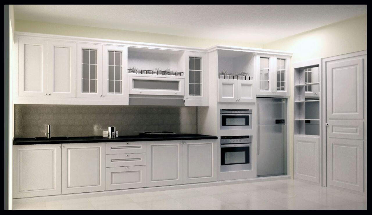 Idesign Arsitektur Kitchen Set Dan Storage Cabinet