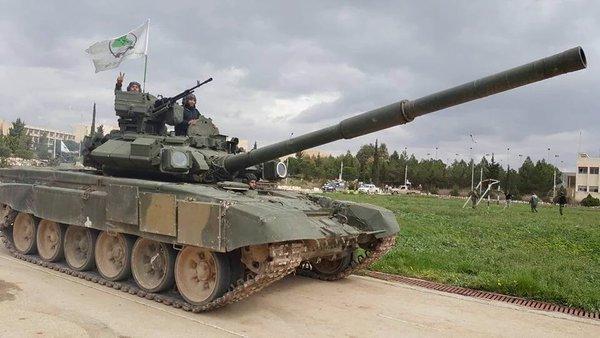Τ-90 της οργάνωσης Asa'ib Ahl al-Haq
