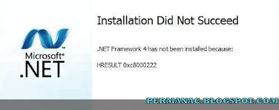 Solusi Instal NET Framework 4