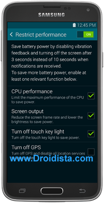Power Saving Mode and Ultra Power Saving Mode