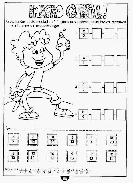 Exercícios de matemática 4 ano para imprimir