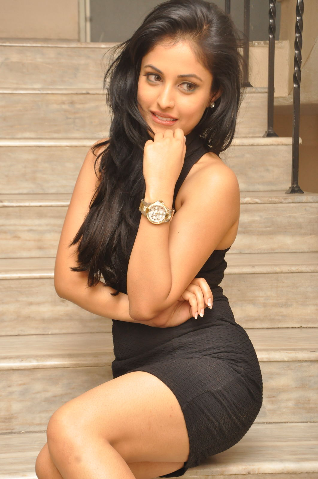 gorgeous cute Priya benerjee photos at kiss logo launch