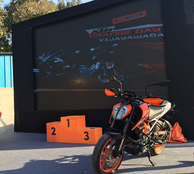 Bajaj Auto launch KTM Duke/KTM Dukes launched in Vijayawada