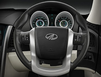New Mahindra XUV 500 stearing wheel