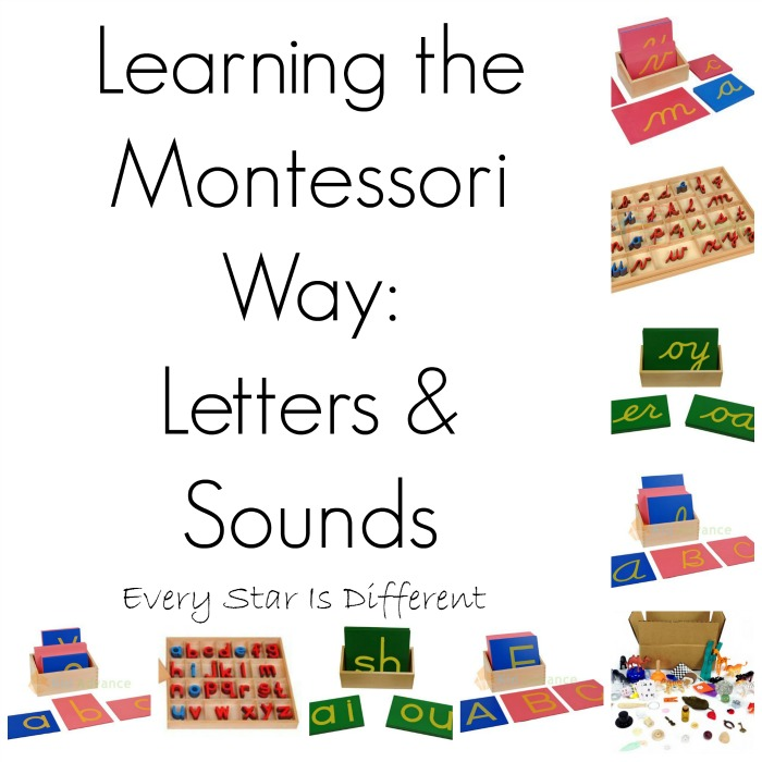 Learning the Montessori Way: Letters and Sounds