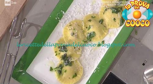Ravioli di robiola e speck con burro aromatizzato ricetta Bottega da Prova del Cuoco