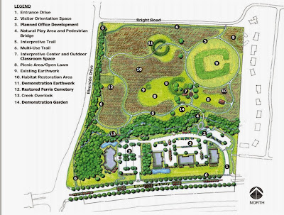 Proposed Future Park for Holder-Wright Earthworks, Dublin, OH.